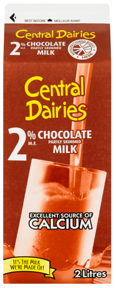 Central Dairies 2% Chocolate Milk
