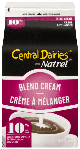 Central Dairies By Natrel 10% Blend Cream