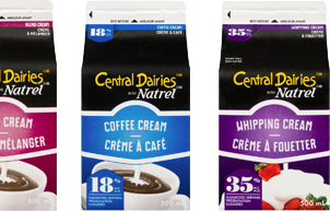 Central Dairies Cream Teaser
