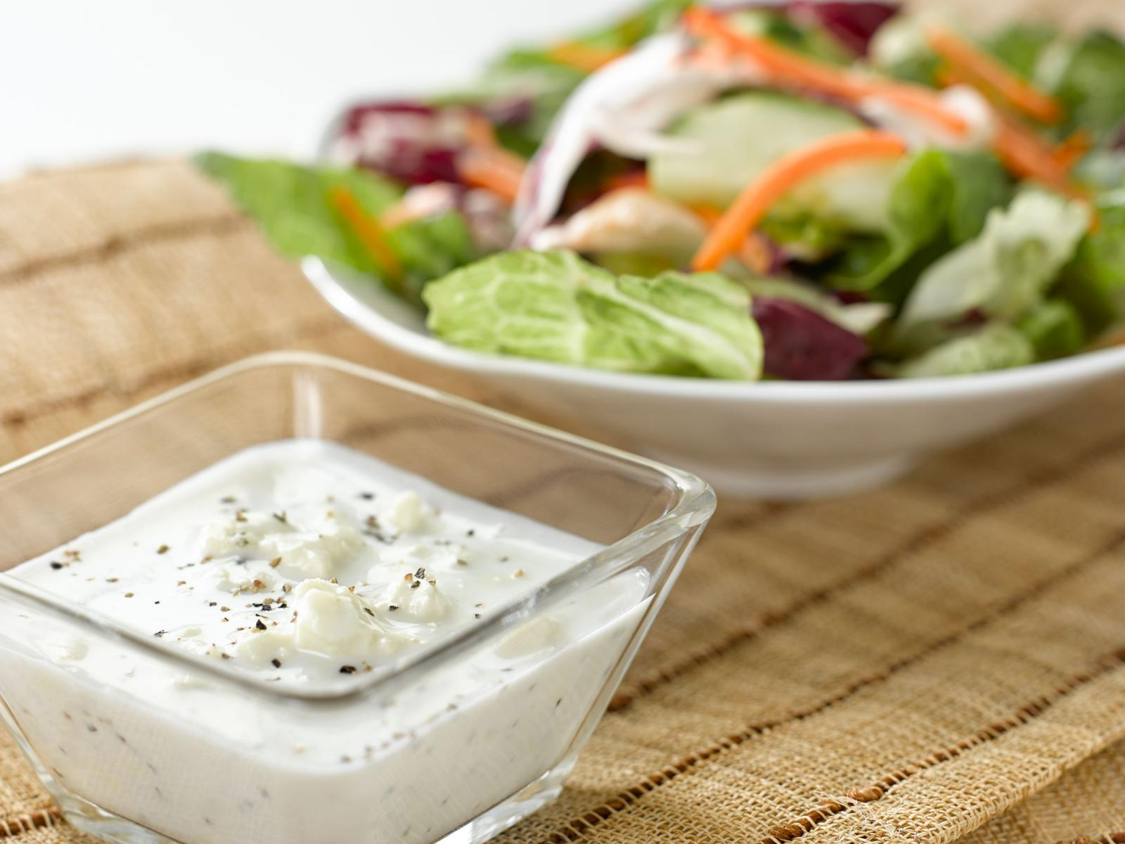 Buttermilk Shamrock Salad Dressing